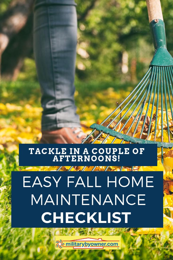 Photo of Bewältigen Sie diese einfache Checkliste für die Wartung von Eigenheimen über ein paar Wochenenden