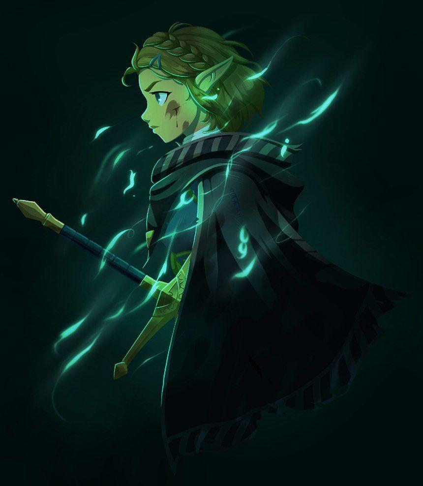 Legend Of Zelda Breath Of The Wild Sequel Art Princess Zelda Botw 2 Runtmonk Legend Of Zelda Legend Of Zelda Memes Legend Of Zelda Breath