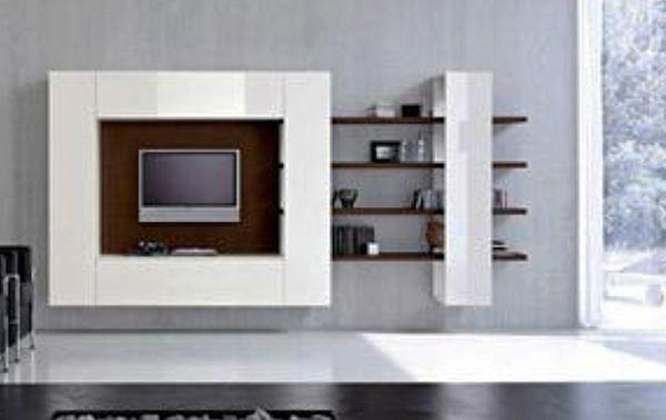 Centros de entretenimiento muebles contemporaneos for Muebles minimalistas online
