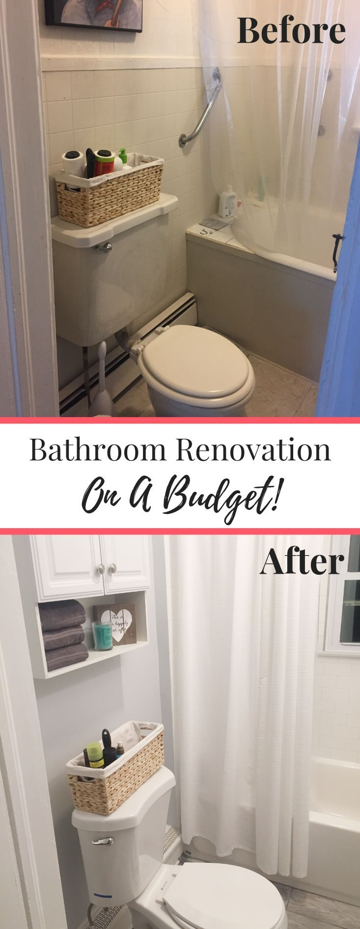 Our Small Bathroom Remodel On A Budget images
