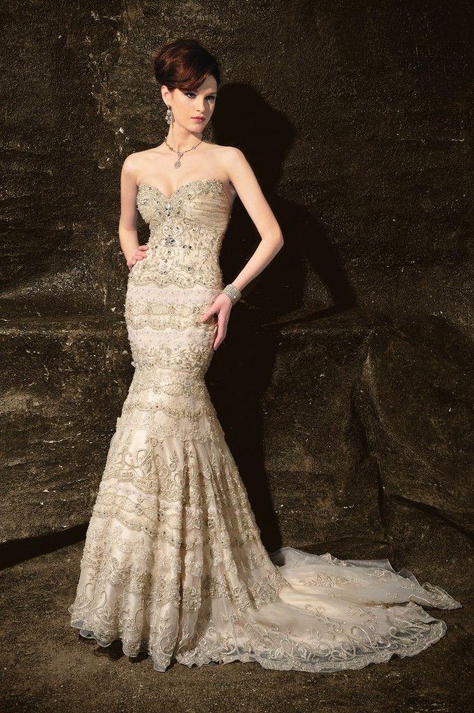 Glamorous Bridal Gowns This Wedding Season