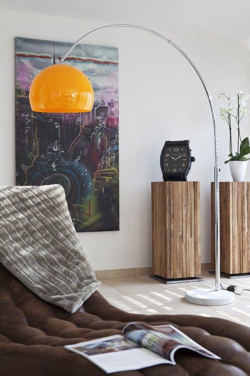 big deal bogenlampe orange m bel pinterest interiors. Black Bedroom Furniture Sets. Home Design Ideas