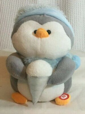 Penguin Singing As Cold As Ice Christmas Frosty Battery Operated | eBay