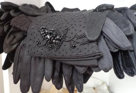 And more gloves...