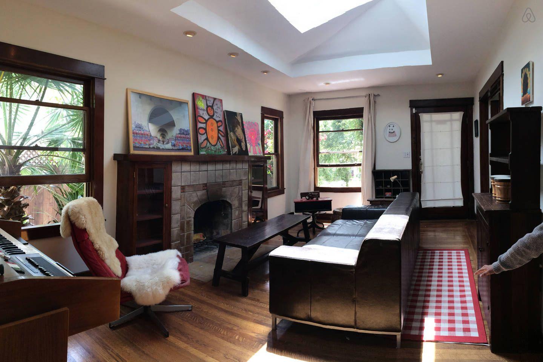 Cool and Arty N. Berkeley Craftsman vacation rental in
