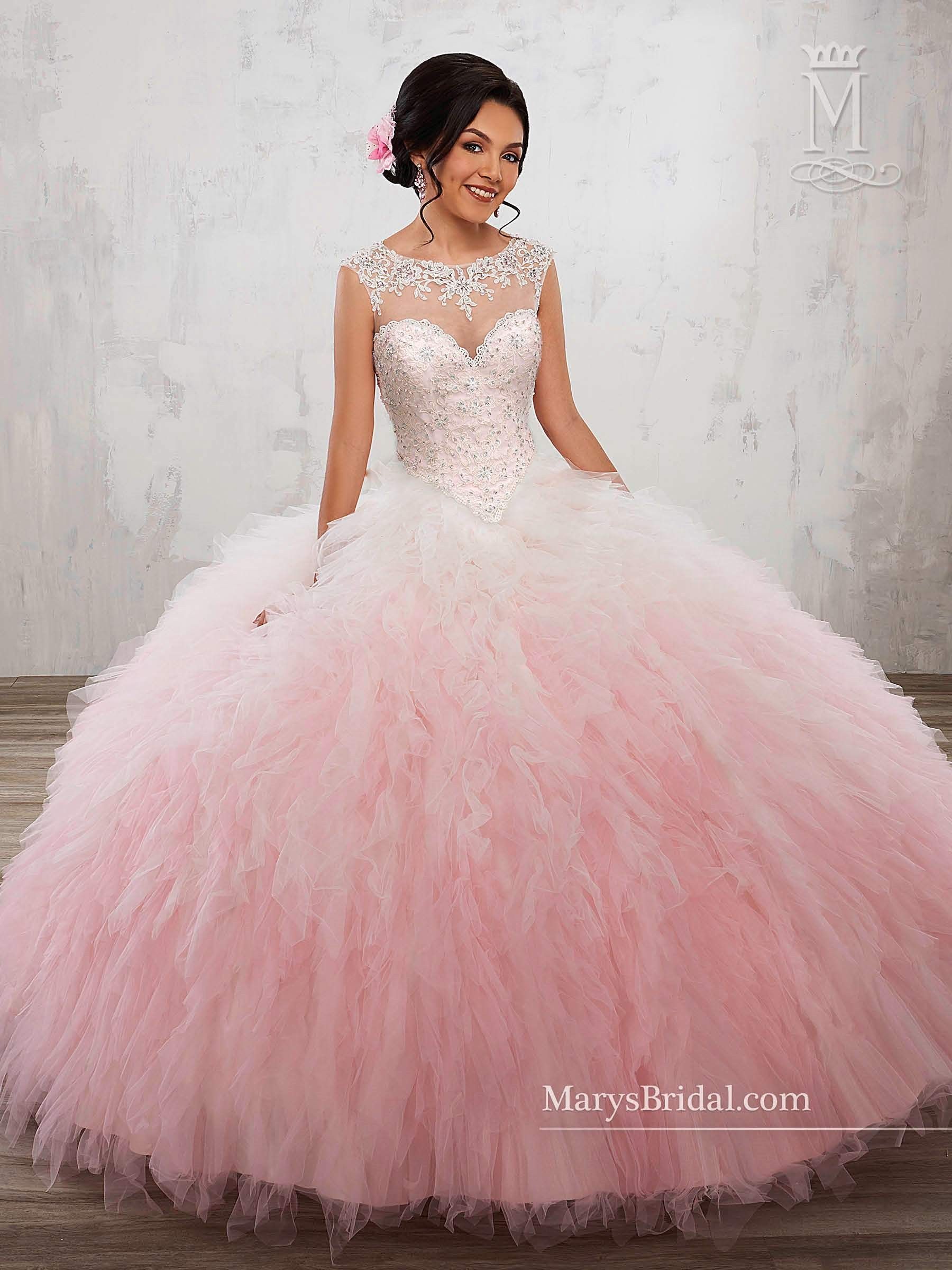 Ombre 2 Piece Quinceanera Dress by Mary\'s Bridal Princess 4Q508 ...