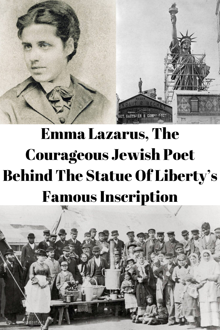 Emma Lazarus, The Courageous Jewish Poet Behind The Statue
