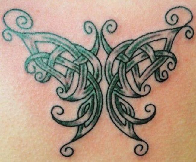 0313b9b9d The Celtic Butterfly is listed (or ranked) 4 on the list Common Irish  Tattoos: What Do They Mean?