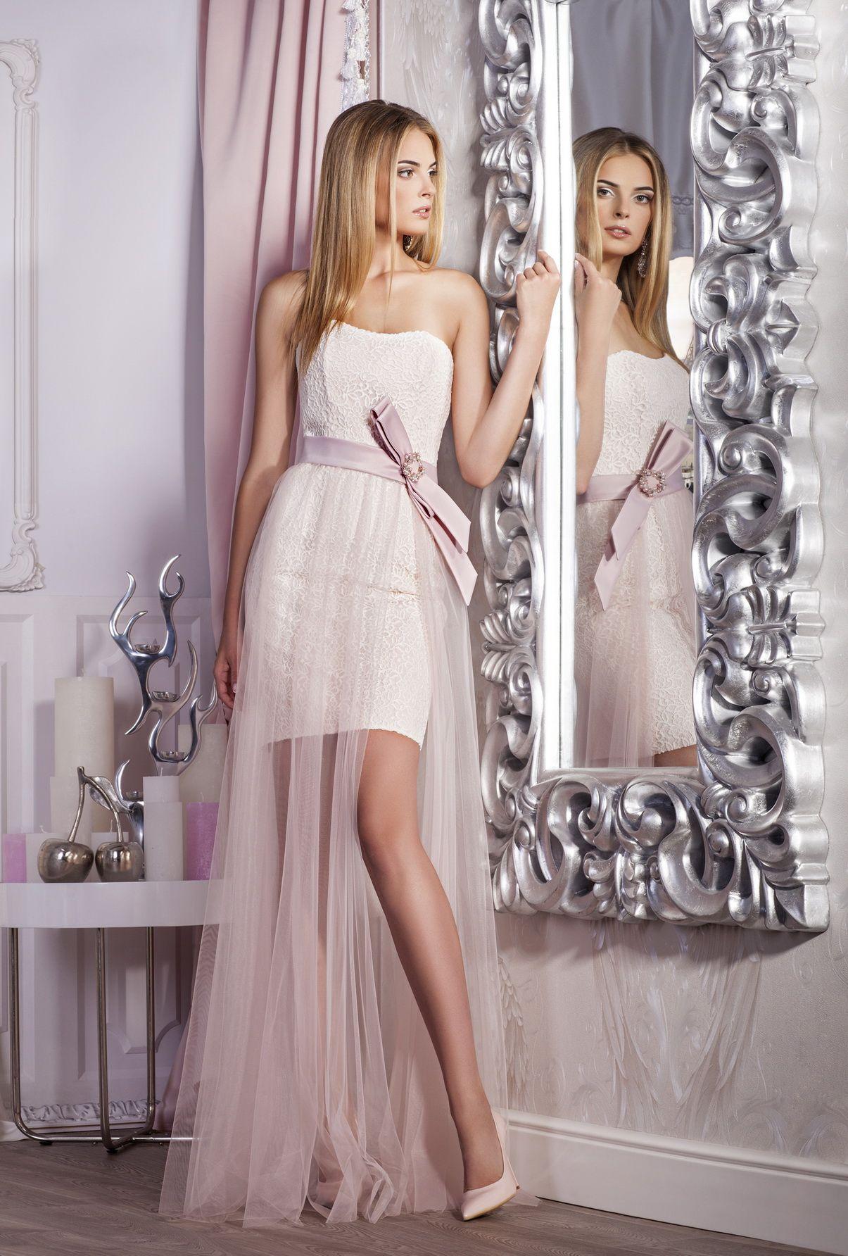 ee74ca2596312f1 Короткое вечернее платье. Отлично подойдет для выпускного вечера, а также  для подружек невесты.