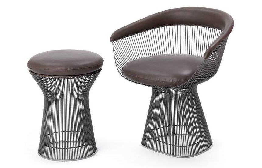 Knoll Sedie ~ Sedia in tondini di acciaio knoll furniture pinterest