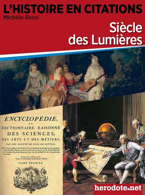 Volume 4 Siecle Des Lumieres Citations Historiques Citation
