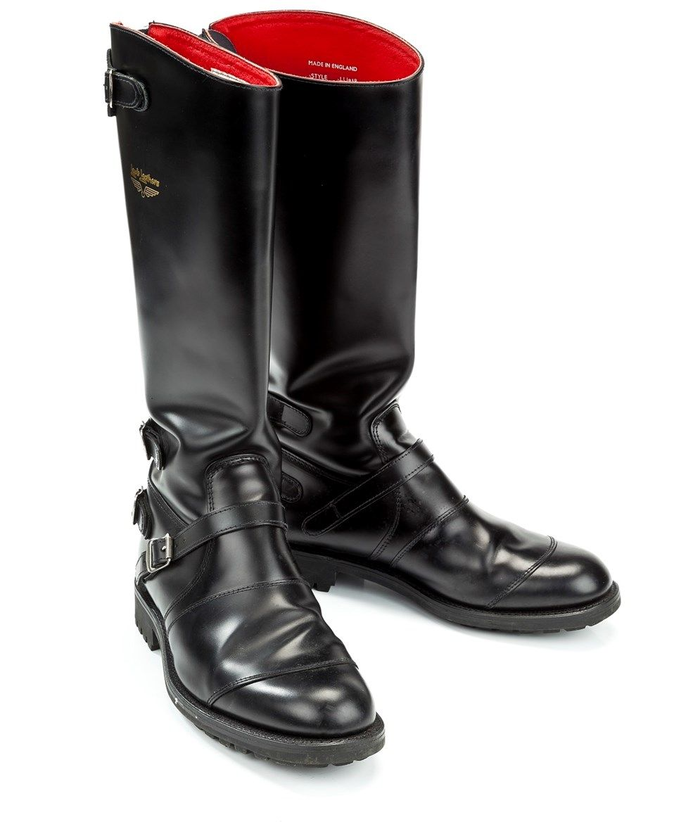 最高峰 70's LEWIS LEATHERS Aviakit 896 Motorcycle Boots (UK/8 ...