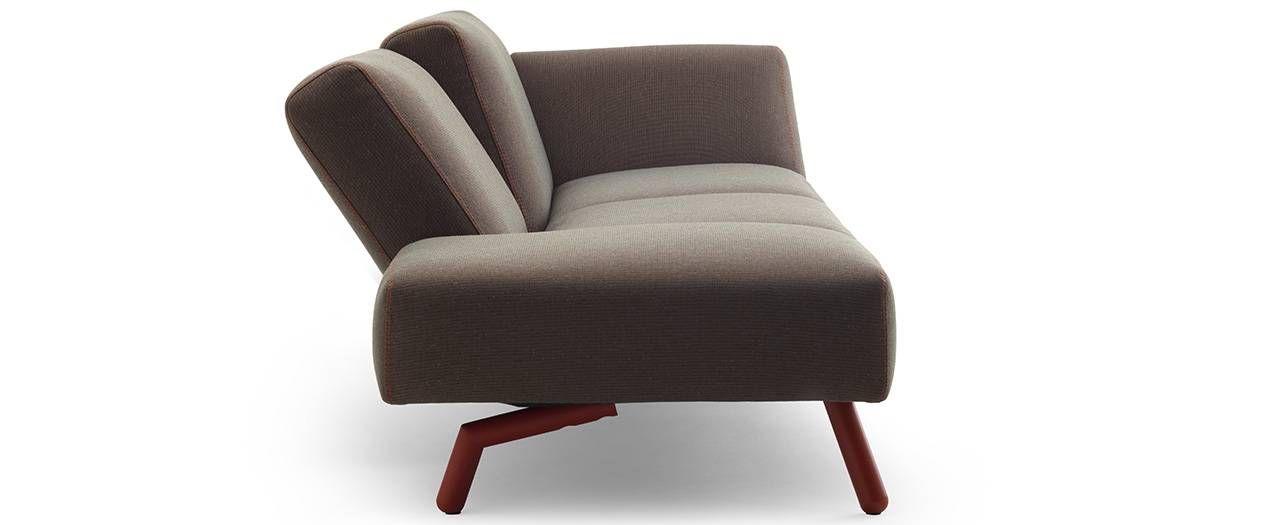 Thiết kế sofa này có thể điều chỉnh linh hoạt nhờ đó phần ghế ngồi ...