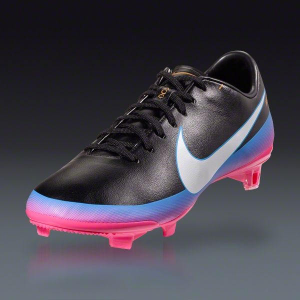 best loved 47bab a091b Nike Mercurial Vapor VIII CR FG - Black White Blue Glow Pink Flash Firm  Ground Soccer Shoes