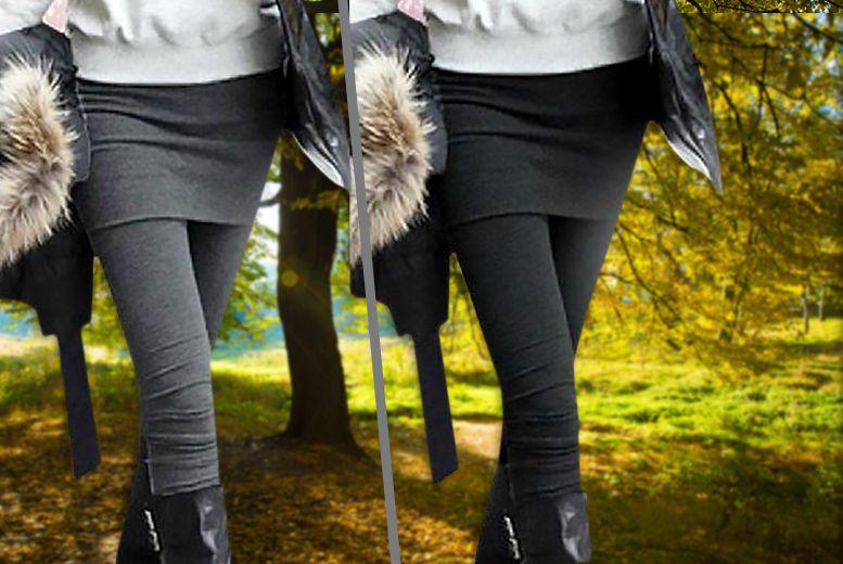 2-in-1 Skirt Leggings