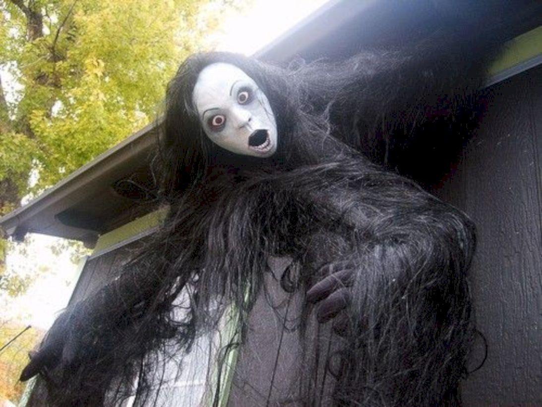 DIY Scary Halloween Decorations Outdoor And Garden 25