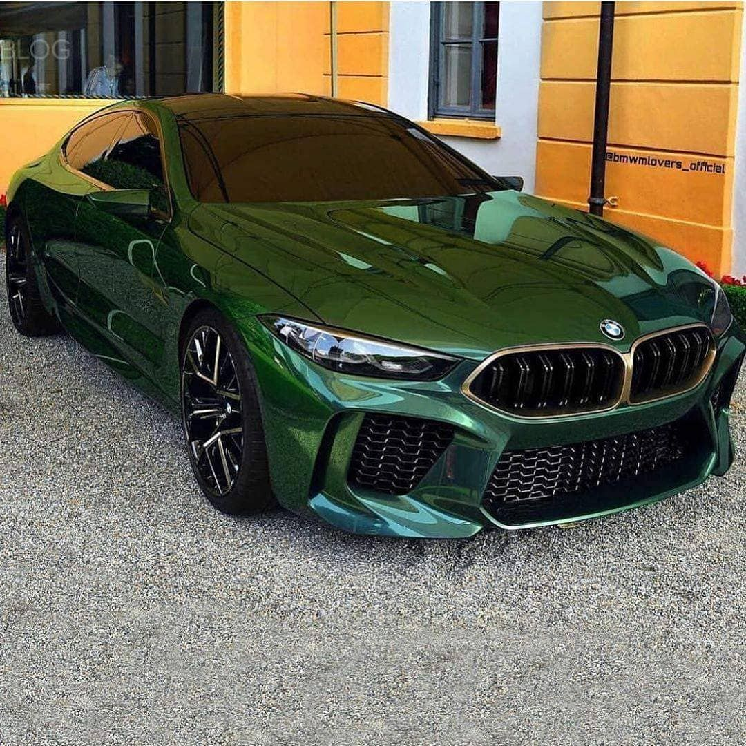 Bmw M8 Coupe 2020 Black