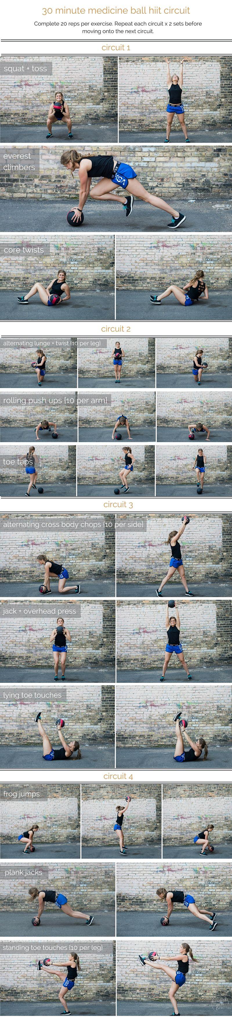 Hanging knee raises with medicine ball - Medicine Ball Hiit Circuit Workout