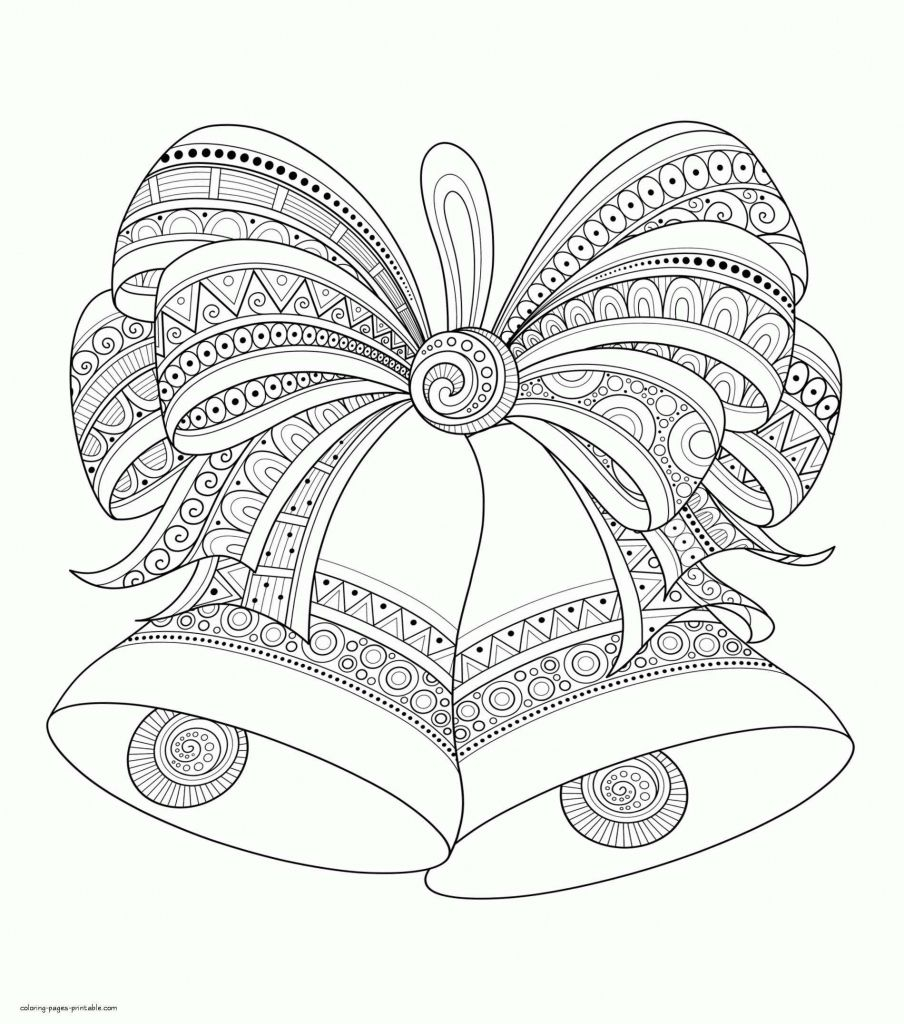 31++ Christmas bow coloring pages ideas in 2021