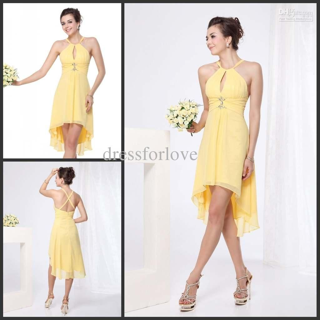beach bridesmaid dresses halter chiffon hilo sheath fold