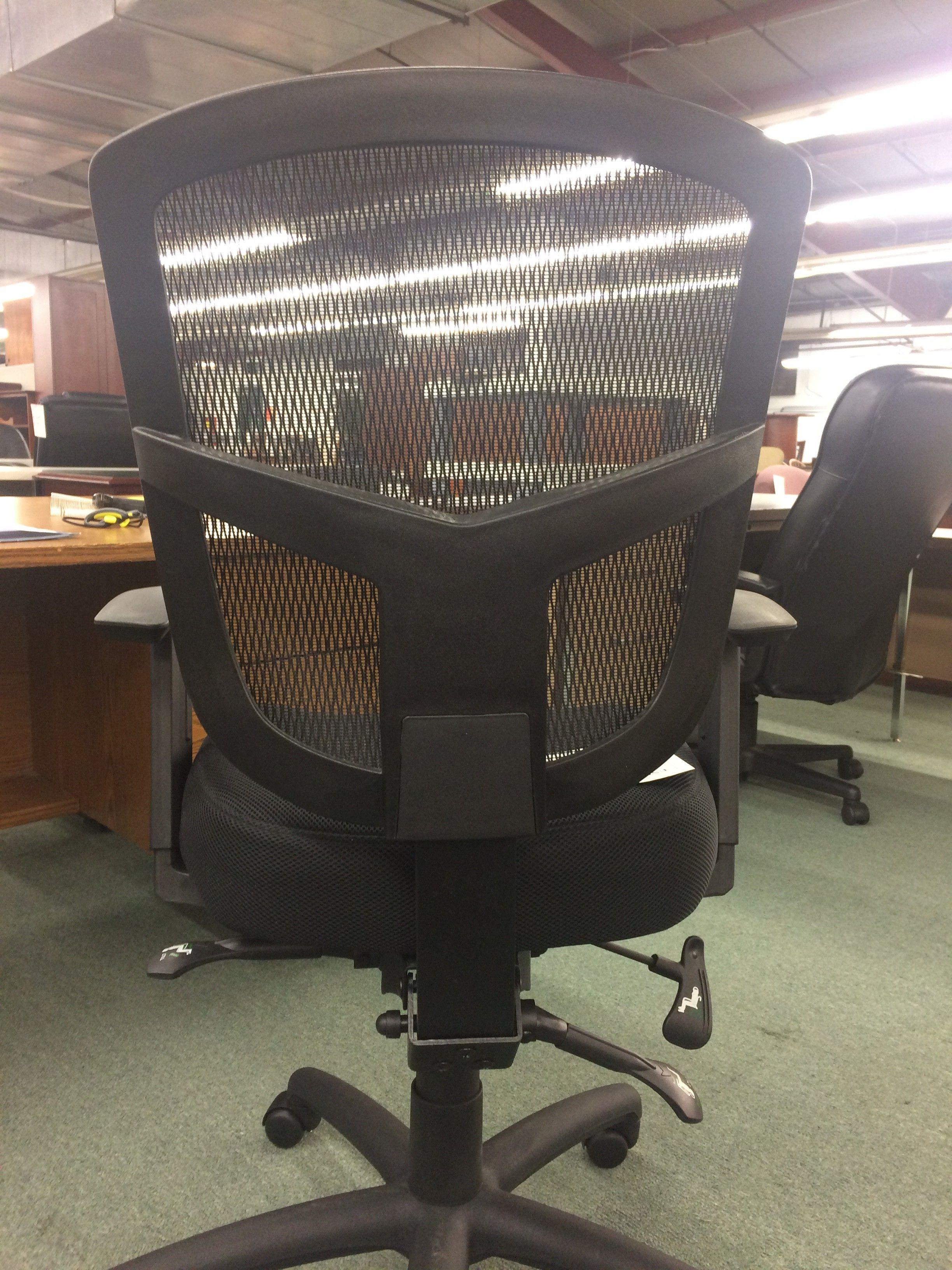 Black mesh back chair office pros atlanta metro