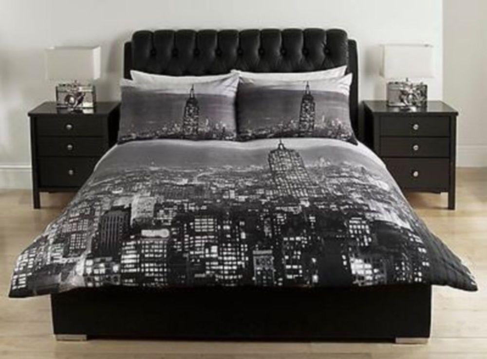 Iconic New York City Skyline Duvet Single Double Kingzise New