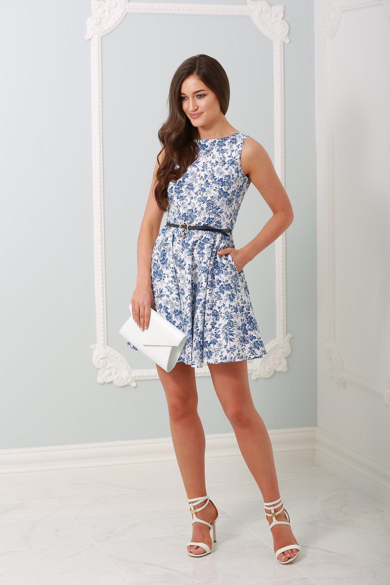 Tahlia blue and white cottage flower dress dress newin tahlia blue and white cottage flower dress dress newin instafashion dresses izmirmasajfo