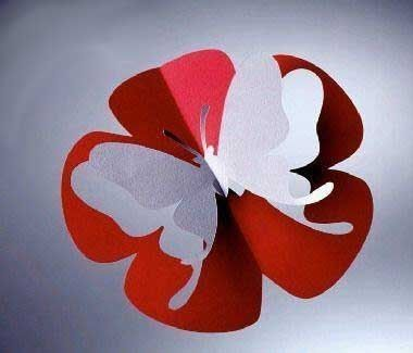 Ideas para el hogar: Varias plantillas de diseño para crear tarjetas volumétricas