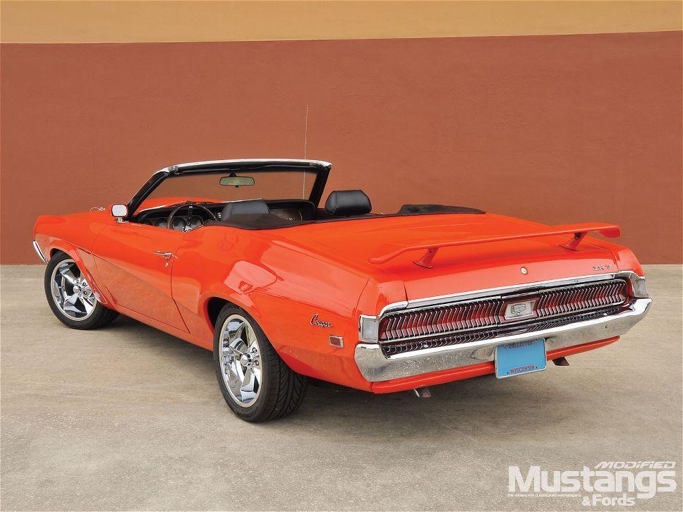 1969 Mercury Cougar Xr7 Convertible   Love American Style ...