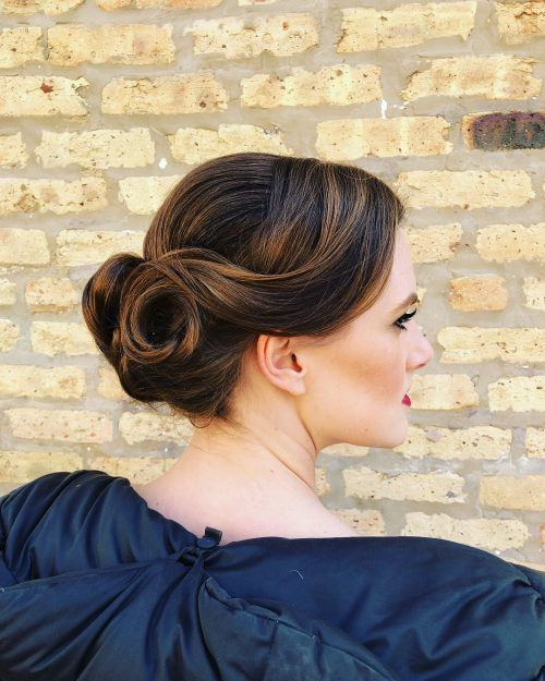 100 Cute & Easy Hairstyles for Shoulder Length Hair | Shoulder length hair, Prom hair updo ...