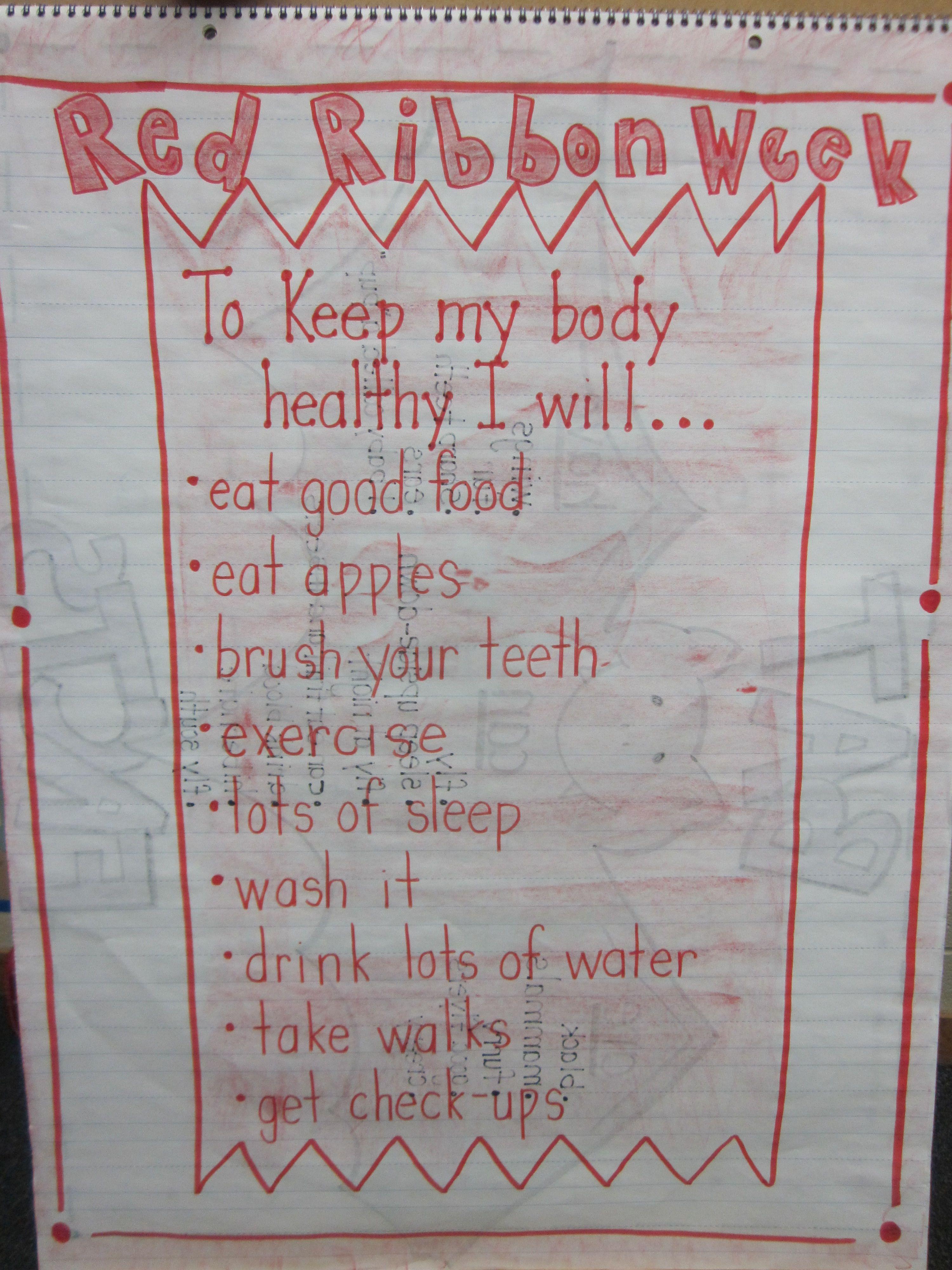 Red Ribbon Week School Counseling Intensive Week
