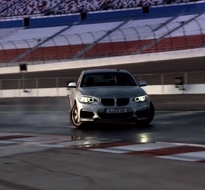 Bmw Builds A Self Driving Car That Drifts Baby Video Bmw Cars