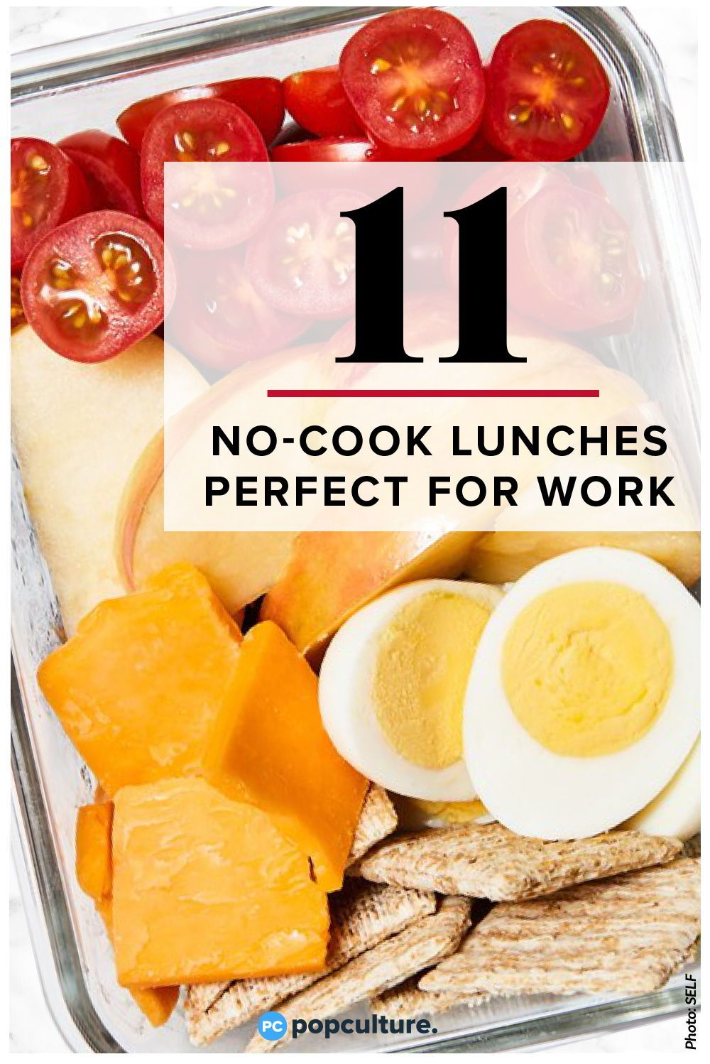 11 Healthy No-Cook Lunches Perfect for Work images