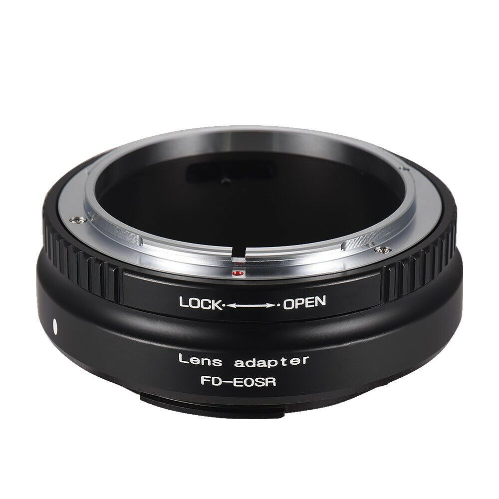 Lens Mount Adapter Ring Aluminum Alloy for Canon FD Lens to Canon
