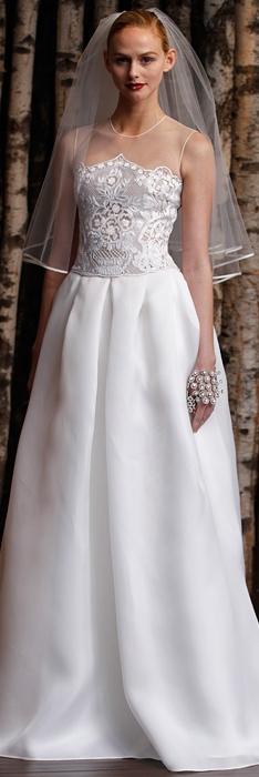 Naeem Khan Spring 2015 Bridal Collection