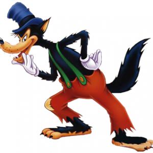 Disfraz De Lobo Para Halloween Al Rincon De Crear Big Bad Wolf Lobo Feroz Villanos De Disney