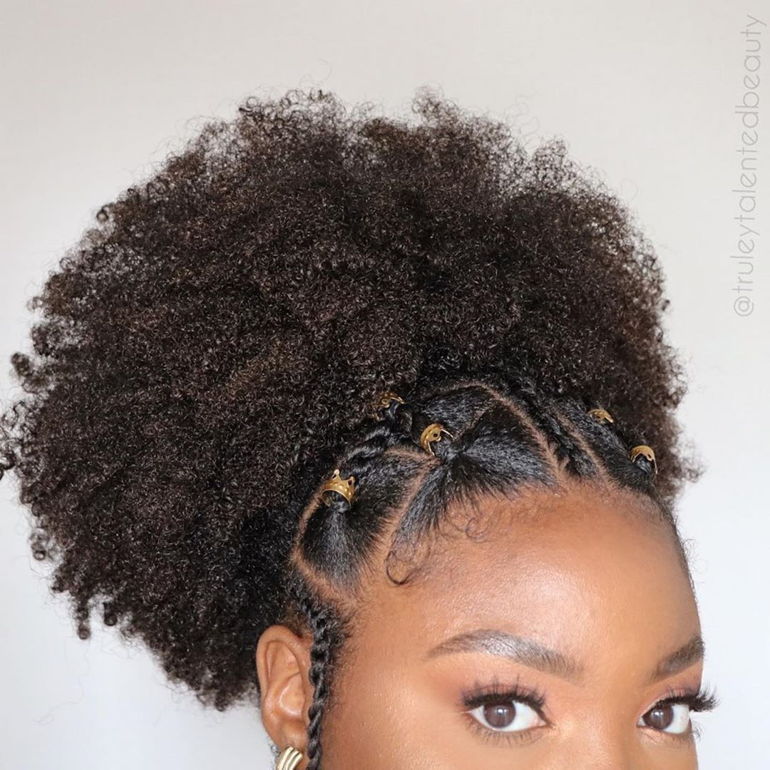 Natural Hair S Instagram Post Repost Truleytalentedbeau In 2020 Natural Hair Styles For Black Women Protective Hairstyles For Natural Hair Natural Hair Styles Easy