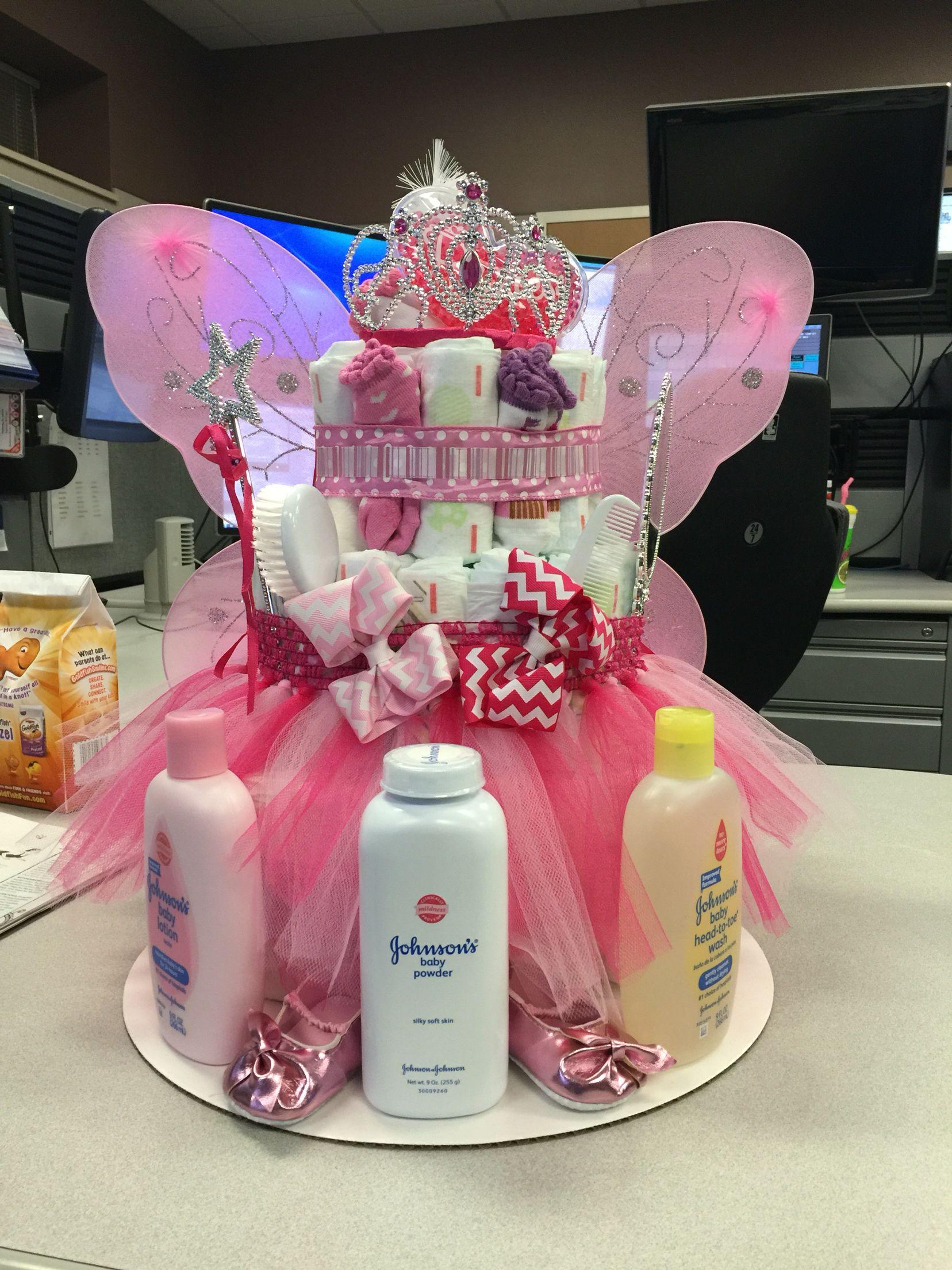 Fairy diaper cake Diaper cake Pinterest