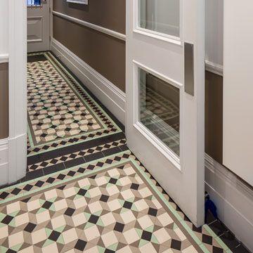 Gallery Of Tile Installations Photos Of Victorian Floor Tiles Geometric Tile Design Tile Floor Tile Design
