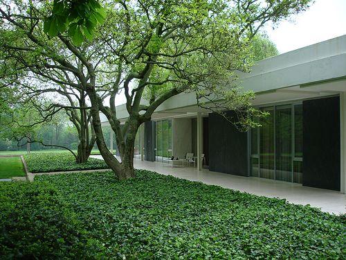 AD Classics: Miller House and Garden / Eero Saarinen   ArchDaily