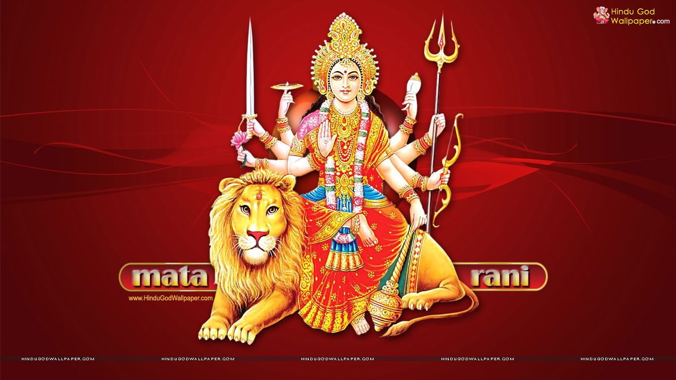Mata Rani Wallpaper Full Size Free Download Mata Rani Navratri Images Durga Picture