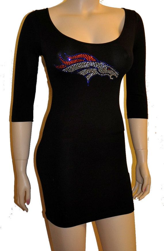 broncos jersey dress