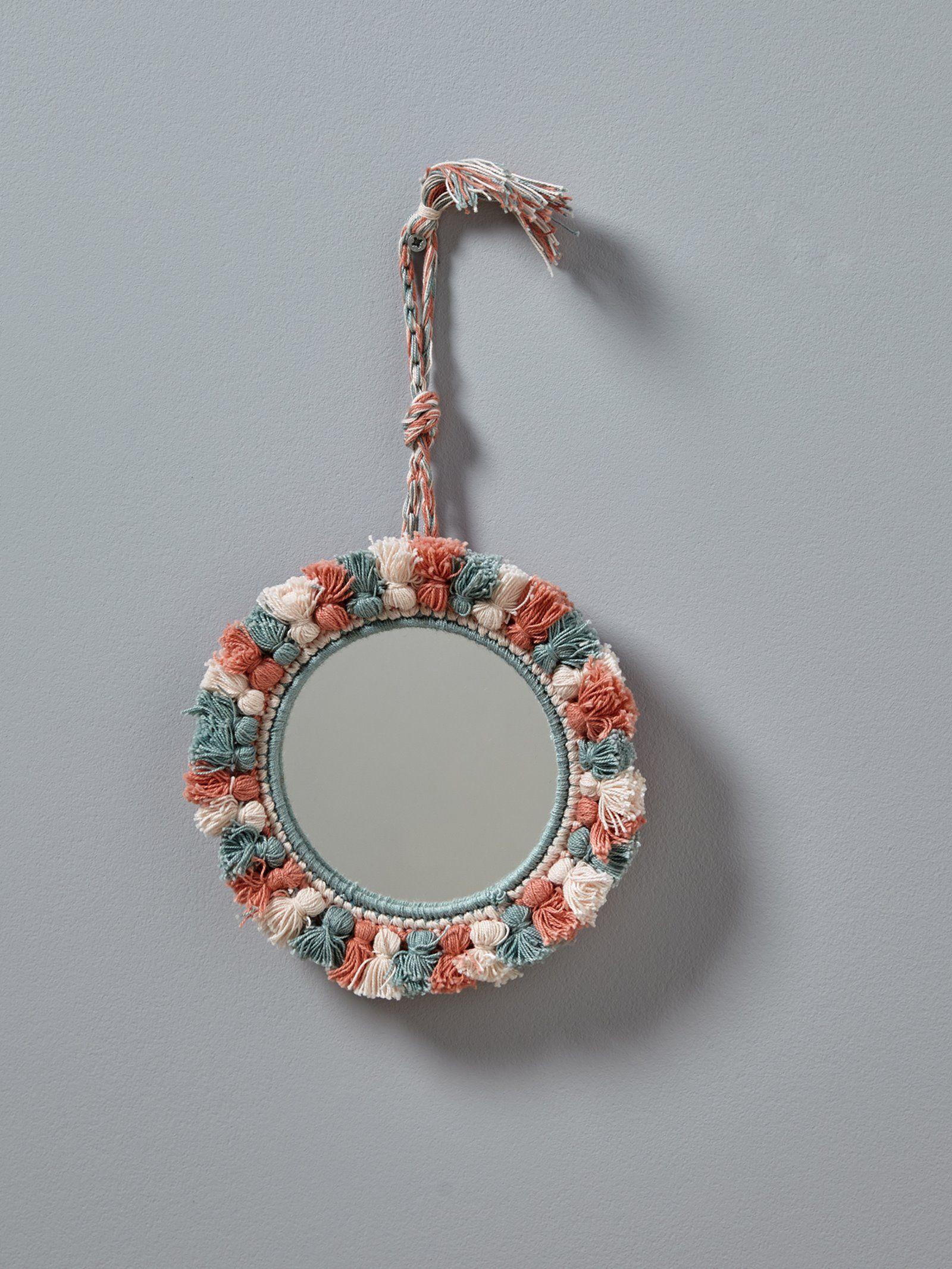 Cyrillus Salle De Bain ~ miroir pompons tricolores rose rose p le vert maison d co