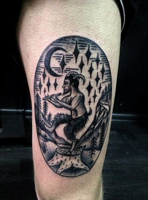 pan tattoo - Google Search | Pan tattoo ref pics ...