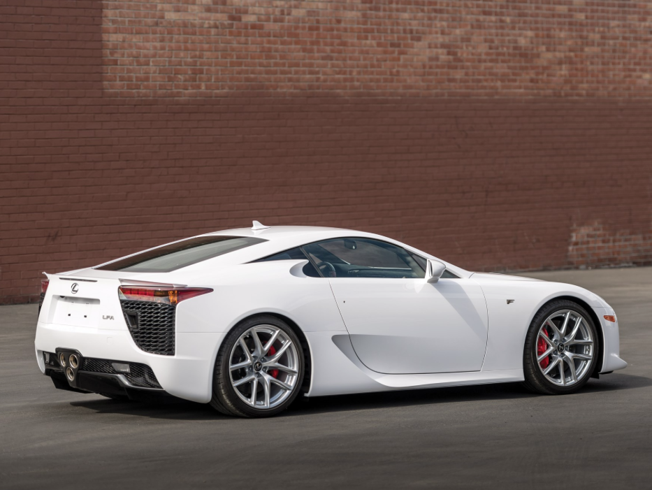 2012 Lexus Lfa Call Premier To Get Pre Approved To Leasealexus On Offer At Rmsothebys Monterey2018 Auction Pfs Leasing