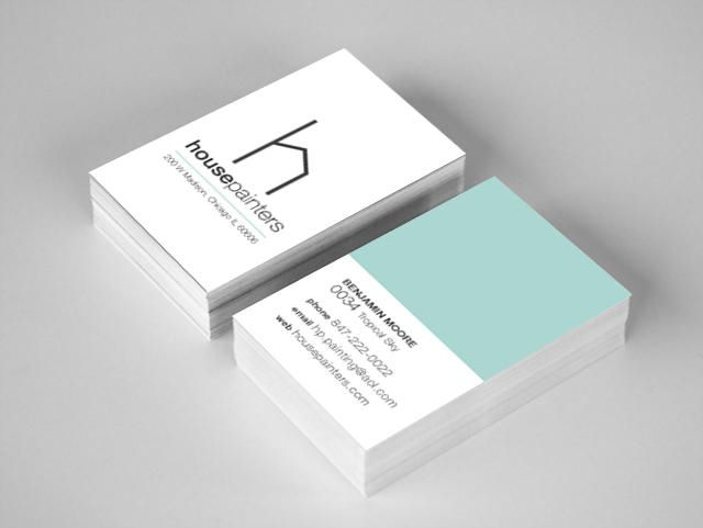 House painters business cards and branding designed by kasey drews house painters business cards and branding designed by kasey drews kaseydrews graphicdesign reheart Image collections
