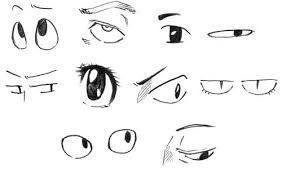 Resultado de imagen para rostro anime mirando hacia abajo