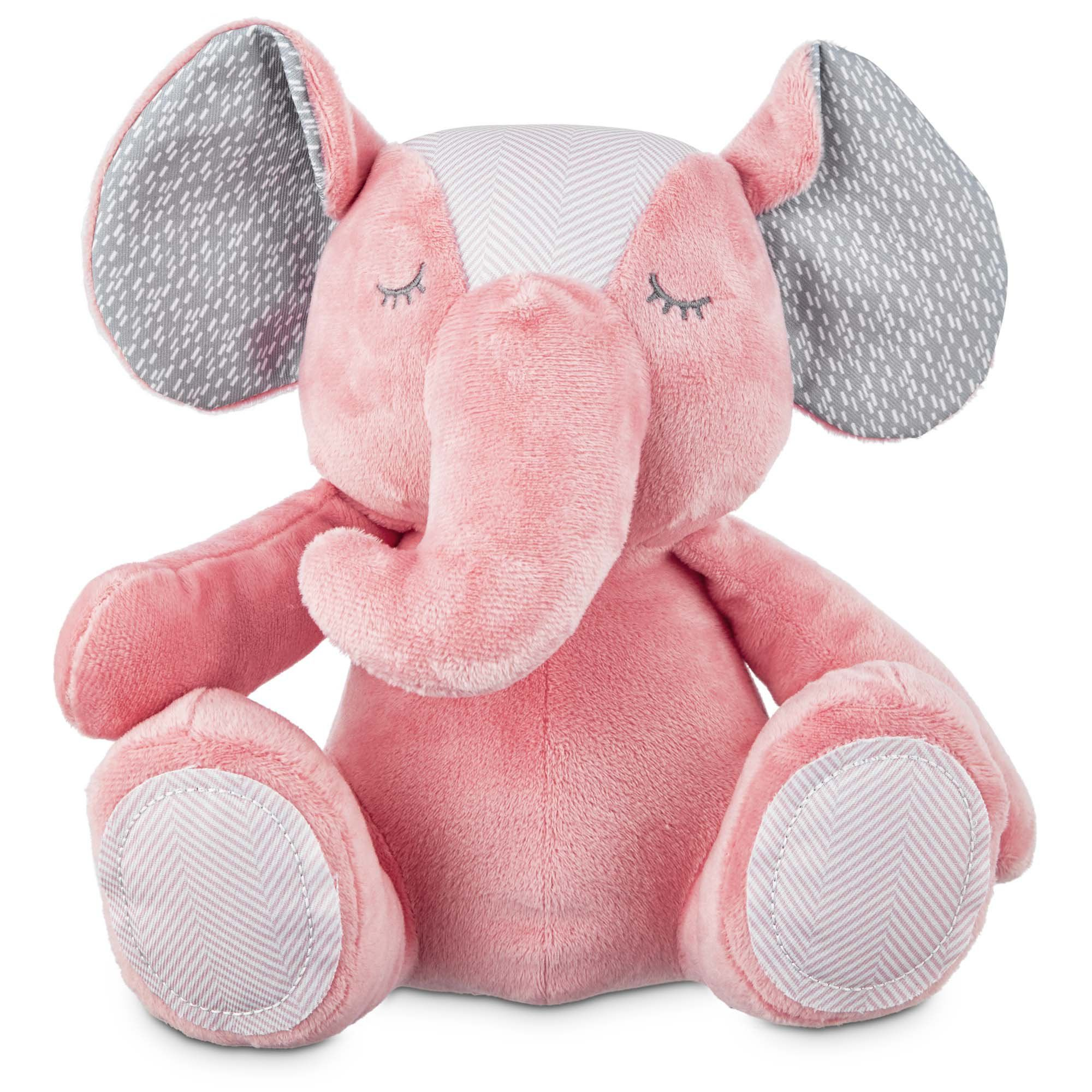 Nurture Your Puppy S Natural Play Patterns With The Leaps Bounds Elephant Puppy Plush Toy Squeakers Capture Their Curi Toy Puppies Puppy Plush Toys Dog Toys
