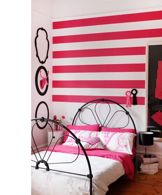 Teenage bedroom heaven in the home of Heather Nette King.