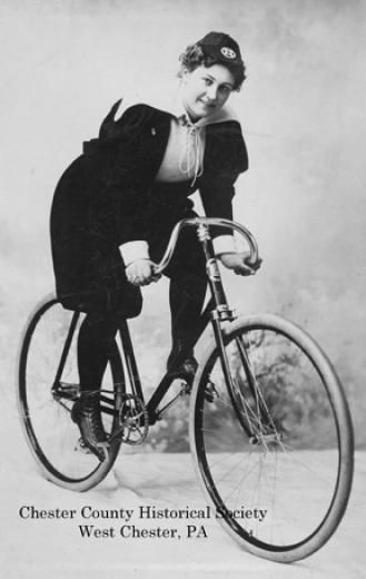 Woman Wearing Bloomers Riding Bicycle Google Search Bicycle